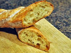 It was bound to happen. Once I felt comfortable shaping baguettes, I went on the pursue of a recipe for a sourdough version. My number one source of inspiration for all things related to bread is…