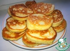 Pancakes at yogurt & quot; ideal & quot;  Ingredients