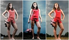 senior pictures ideas for girls cross country | Franklin cross country athlete posing with running spikes