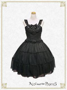 Btssb - Le Clair Chiffon Jumper Skirt in Black