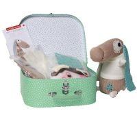 Knuffel hond knutselpakket (Sock Doggy).  Maak een eigen knuffel! Deze koffer is geweldig en origineel om cadeau te doen aan ieder kind. In deze knutselkoffer zitten benodigheden om een schattig hondje te maken van een handschoen en een sok. Het is een leuke en makkelijke bezigheid met een geweldig eindresultaat: een leuk en lief hondje met een schattig snuitje. http://www.geschiktspeelgoed.nl/product/knuffel-hond-knutselpakket-sock-doggy/