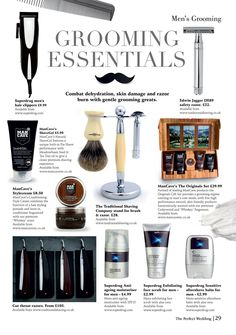 The Perfect Wedding Issue 7 Edwin Jagger, Pre Shave, Safety Razor, Male Grooming, Uk Online, Shaving, Perfect Wedding, Wedding Day, Essentials