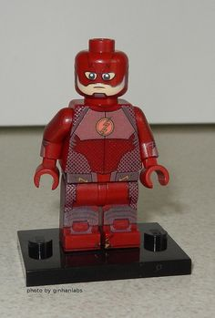 Custom LEGO Flash from upcoming tv series #minifigs4u