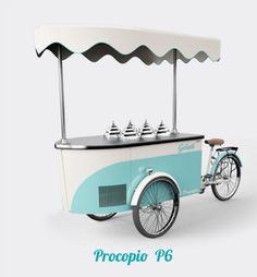 Eiswagen Procopio P 6 Eisstand Eiscafe Eisdiele Mobil Speiseeis Neu Eisbus  | eBay