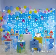 1 million+ Stunning Free Images to Use Anywhere 1st Birthday Party For Girls, Baby Party, Baby Birthday, Baby Shower Balloons, Birthday Balloons, Shark Party Decorations, Balloon Decorations, Bubble Guppies Party, First Birthdays