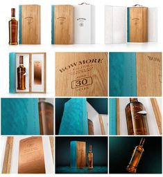 Wooden Wine Boxes, Wooden Containers, Bottle Packaging, Custom Packaging, Bowmore Whisky, Copper Still, Packaging Suppliers, Packaging Solutions, Packaging Design Inspiration