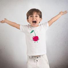 Le chouchou de ma boutique https://www.etsy.com/ca-fr/listing/249008327/t-shirt-enfant-en-coton-bio-cerise-de