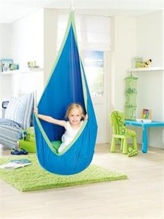 Cuddle swing (recommended for children with autism or for children needing sensory integration and vestibular input). Use vestibular input as a preparatory activity prior to fine motor intervention. Swing Indoor, Indoor Jungle Gym, Hammock Swing, Hammock Chair, Swinging Chair, Hammocks, Indoor Outdoor, Indoor Hammock, Swing Chairs