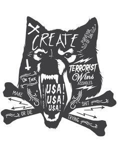 Artist Creates Vulgar Illustrations That Laugh At Hipster Culture - DesignTAXI.com