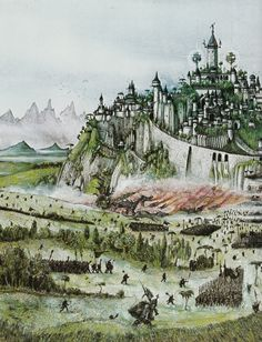 The most beautiful Elven city built on Middle-earth was said to be Gondolin, the Hidden Kingdom. This was the last Elf-kingdom to survive the War of the Jewels. Its king was Turgon, the Noldor lord, who wisely chose to conceal the city in the Encircling Mountains. However in the end the servants of Morgoth discovered it; Orc legions appeared before its gates, together with Trolls and fire-breathing Dragons driven on by the Balrog demons. Though the elves battled valiantly Gondolin was…