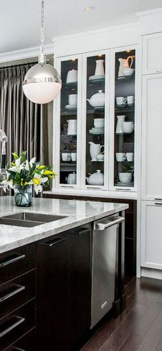 Want these counter tops!  Atmosphere Interior Design: Home Lottery Spring 2013