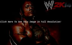 WWE 2K14 Game The Rock Desktop Wallpaper HD