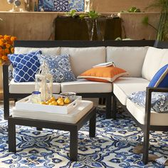 San Mateo 6 Piece Grouping | Pier 1 Imports $900 + cushions - perfect size