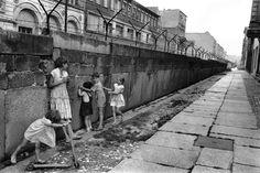 Henri Cartier-Bresson  1962. West Berlin. The Berlin wall.