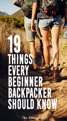Backpacking Tips: 19 Things I Wish I Knew Before Hitting the Trail (2020)