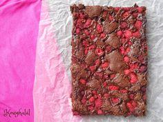svéd málnás brownie kladdkaka