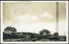 "Hordaland fylke BERGEN, med ""Den traadløse Telegrafstationen paa Rundemanden"" Utg C.A.Erichsen. Stemplet 1916"