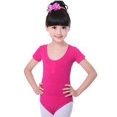 Cotton Gymnastics Leotards for Girls Leotard Dance Costumes Dancewear Sportswear