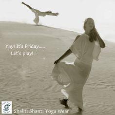 Shakti Shanti Yoga Wear beach play