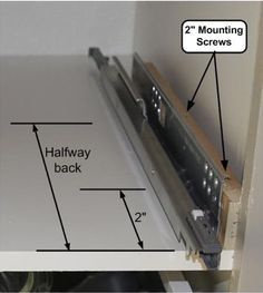 How-to: Install Drawer Pullouts in Kitchen Cabinets & IKEA Hackers & IKEA Hackers Source by. The post How-to: Install Drawer Pullouts in Kitchen Cabinets & IKEA Hackers appeared first on Claire Layton Interiors. Ikea Hackers, Outdoor Kitchen Cabinets, Diy Kitchen, Awesome Kitchen, Kitchen Decor, Ikea Drawers, Cabinet Drawers, Ikea Kitchen Drawers, Kitchen Cabinet Organization