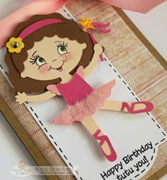 Scrapping Mommy: Happy Birthday Tutu You - Using Sweet and Innocent Face Assortment