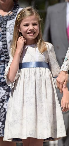 Infanta Sofia at her sister's First Holy Communion, Madrid May 20,2015