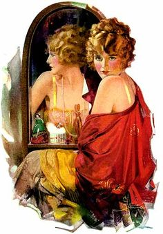 "Palmolive, ""Most men ask 'Is she pretty'""?, 1924 (Rolf Armstrong)"