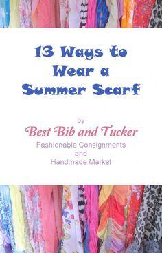 summer scarf tying ideas