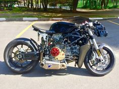 Custom Motorcycle - Custom Motorcycles - Ducati MOTO.com.br An unusual: Superesportiva 999 cafe racer