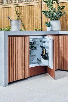 Outdoor Bbq Kitchen, Outdoor Sinks, Outdoor Oven, Outdoor Kitchen Design, Outdoor Barbeque Area, Bbq Area, Outdoor Kitchens, Outdoor Areas, Outdoor Rooms