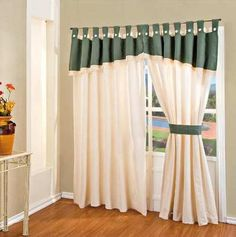 Cortinas decoradas | Cortinas | Pinterest