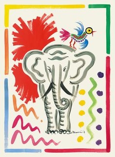 Elephant - Kazumi Yoshida - Tiger Flower Studio