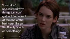 Reality Bites Anniversary: The Stars, the Quotes, the Music Frienship Quotes, Reality Bites, Favorite Movie Quotes, Sarcasm Humor, Drama Film, Film Quotes, Teenage Dream, Dont Understand, 20th Anniversary