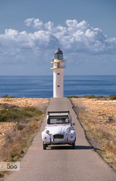 car and lighthouse - Formentera