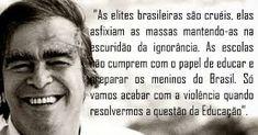 Resultado de imagem para Em 17 de fevereiro de 1997 Morre Darcy Ribeiro, antropólogo, político e escritor, em imagens