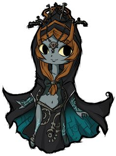 Midna (Twilight Princess) Wind Waker style COOTIE PATOOTIE! <3