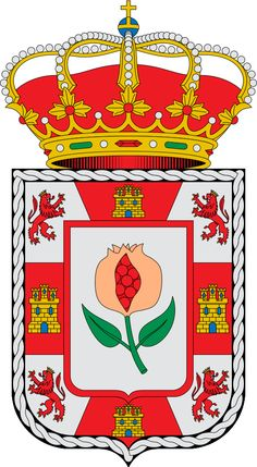 Escudo de la provincia de Granada - España Granada es una provincia española situada en el sureste peninsular, a orillas del mar Mediterráneo y en plena cordillera Penibética, dentro de la comunidad autónoma de Andalucía. Su capital es la ciudad de Granada.