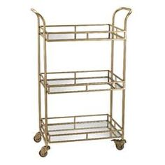"""Check out our site for even more info on """"bar cart decor inspiration"""". It is actually an exceptional location to find out more. Diy Bar Cart, Gold Bar Cart, Bar Cart Decor, Bar Carts, Plywood Furniture, Bar Furniture, Style At Home, Kitsch, Metal End Tables"""