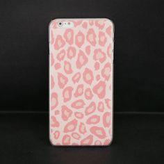 Kumi #Pink #Leopard iPhone 6 #Relief #Slim #Case - Fashion9shop.com
