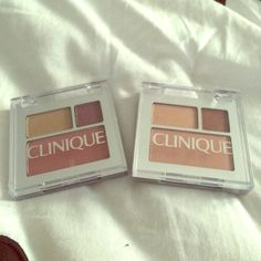 Clinique Mini Eyeshadow Palettes Brand new, never used! Clinique Makeup Eyeshadow
