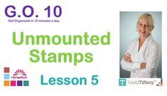 GO-10 #5 Unmounted Stamp Organization