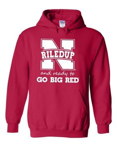 "Nebraska Cornhuskers Football ""RiledUp"" Hooded Sweatshirt"