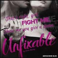 BOOK TOUR   UNFIXABLE by Tessa Bailey ~ Teasers, Playlist + Giveaway! - http://thelustyliterate.wordpress.com/2014/04/22/book-tour-unfixable-by-tessa-bailey-teasers-playlist-giveaway/