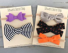 Your place to buy and sell all things handmade Diy Halloween Headbands, Newborn Halloween, Halloween Hair Bows, Newborn Hair Bows, Baby Hair Bows, Baby Girl Headbands, Shops, Head Bands, Diy Hair