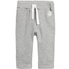 Grey Cotton 'Tiger' Tracksuit Trousers, Kenzo