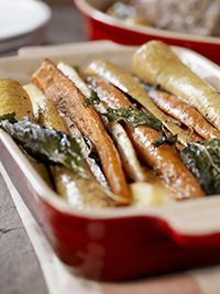 Roast a pan of root vegetables as they are in season. Root vegetables are delicious in any combination! University of Minnesota Extension Center for Family Development.