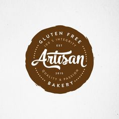 Design #52 by austinminded | create a inspiring logo for our 100% gluten free bakery please do not include pictures of wheat.