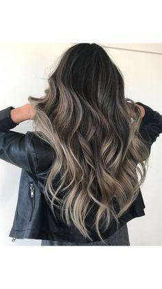 Brown Hair Balayage, Brown Blonde Hair, Hair Color Balayage, Brunette Hair, Hair Highlights, Blonde Balayage, Ombre Hair, Blonde Hair Looks, Hair Color For Black Hair