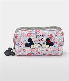 02d8e31128 This also captured in large scale on the Garden of Love rectangular cosmetic  case from Disney