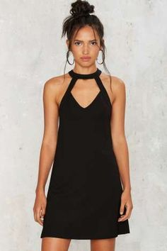 Cut Furthermore Mini Dress